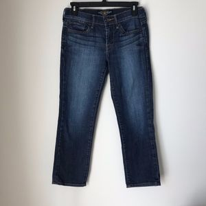 Lucky Brand Sweet N Straight Cropped Jeans